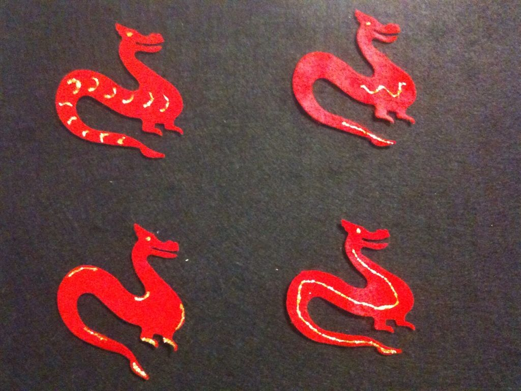 Four Red Dragons