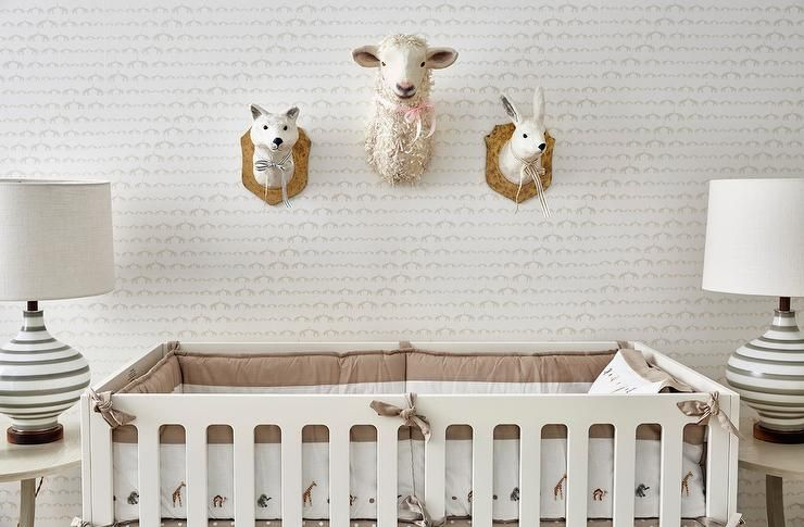 Whimsical Boy S Nursery Is Equipped With An Oeuf Classic