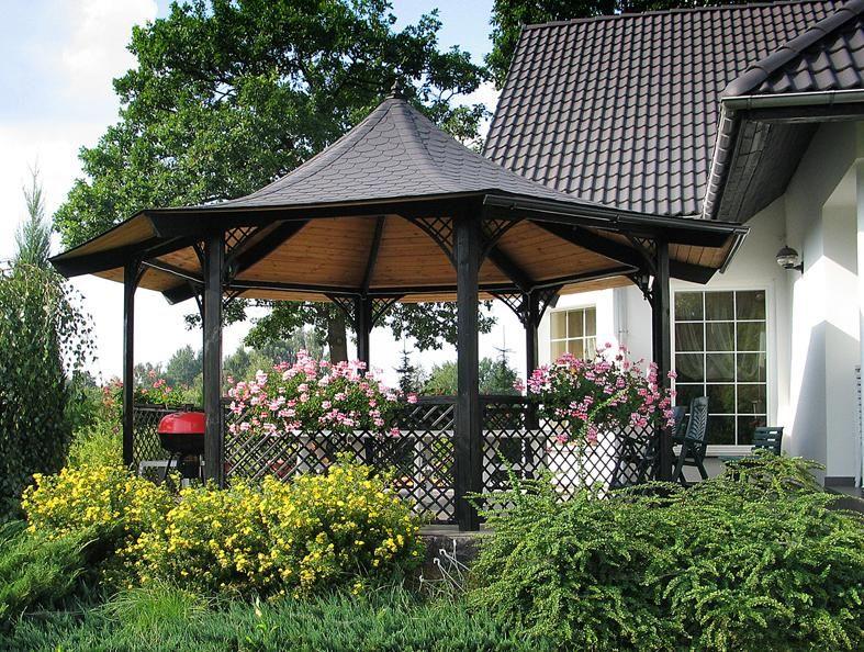 Eine von unseren schönsten Gartenlauben - Maxigroß :) Sieht super in jedem Garten aus!