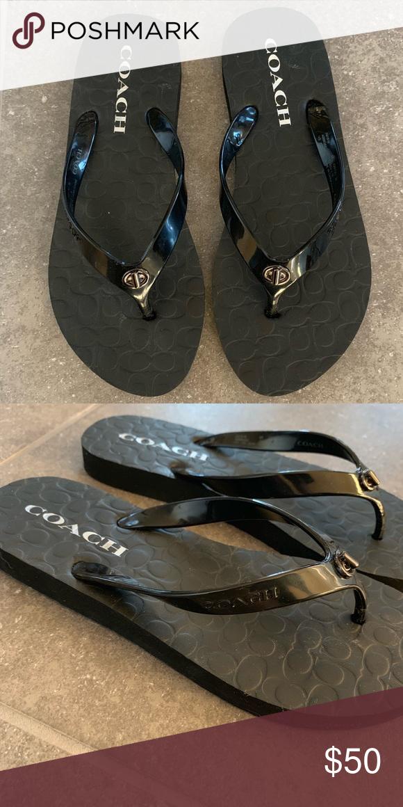 🆕 Coach Abbigail Sandal Black Size 7
