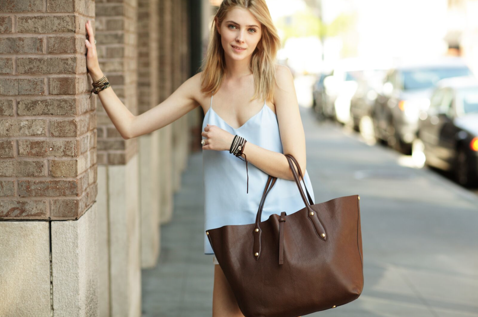 68ee71a3418e Annabel Ingall Australia • Large Isabella Tote in Chocolate