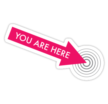 You Are Here Pink Sticker By Thawatchai Chana Printable Stickers Wallpaper Stickers Stickers