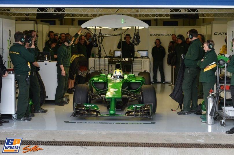 CT05 Launch - Circuito Permanente de Jerez , 2014 , Caterham