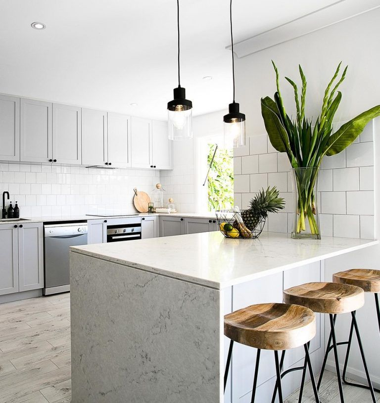 Total transformation Hamptons style haven Gray KitchensContemporary