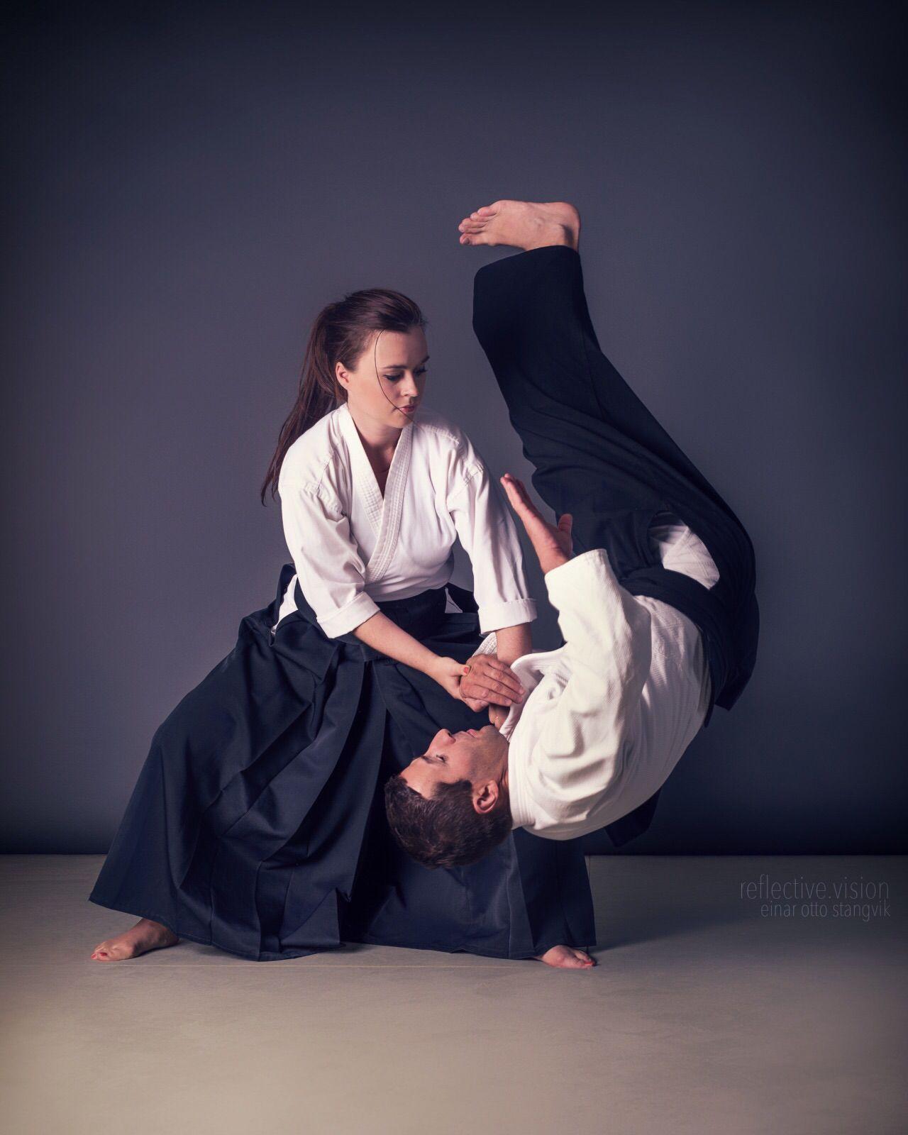 Aikido kote gaeshi martial arts women female martial