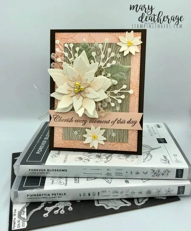 Stampin' Up! Forever Poinsettia Petals with Video