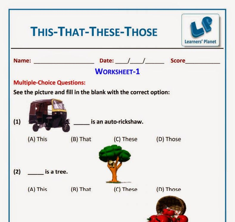 English this that these those worksheet for grade 1 kids learners english this that these those worksheet for grade 1 kids learners planet ibookread PDF