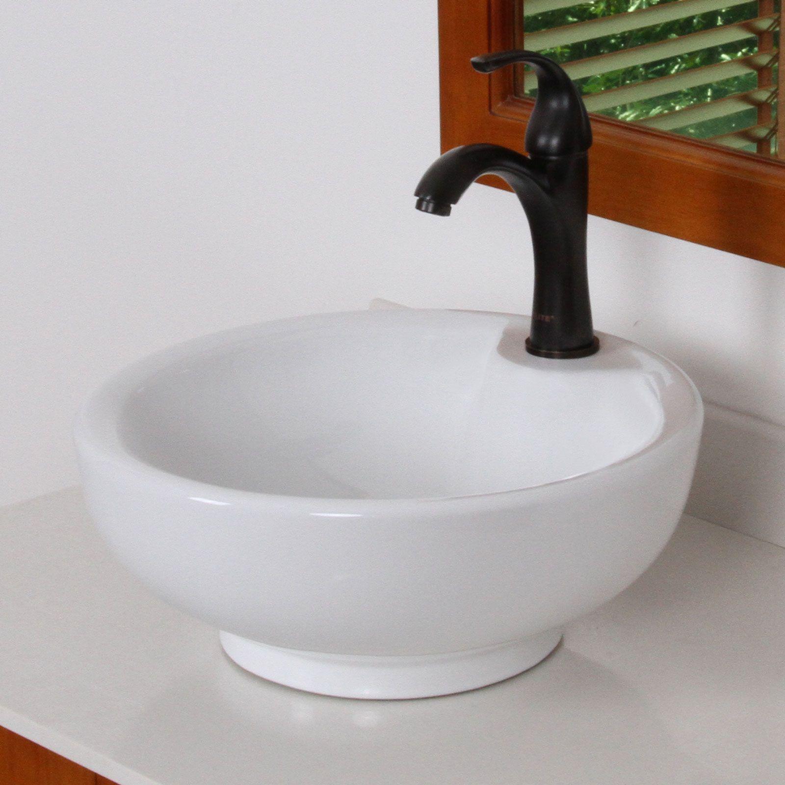 8821orb Elite Oil Rubbed Bronze Single Lever Basin Faucet Bathroom