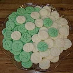 Cream Cheese Mints Allrecipes.com | Stuff I want to make | Pinterest ...