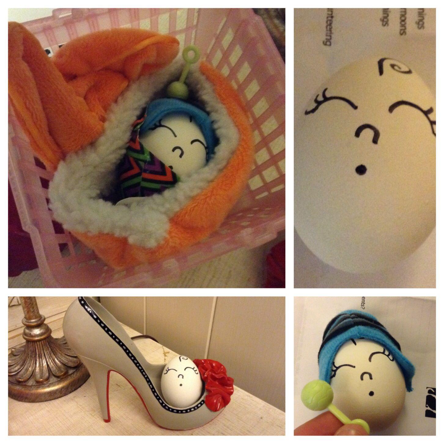 Egg baby challenge: tr...