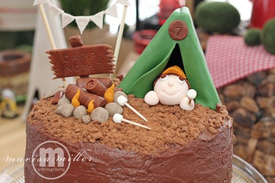 anniversaire 7 ans camping 2