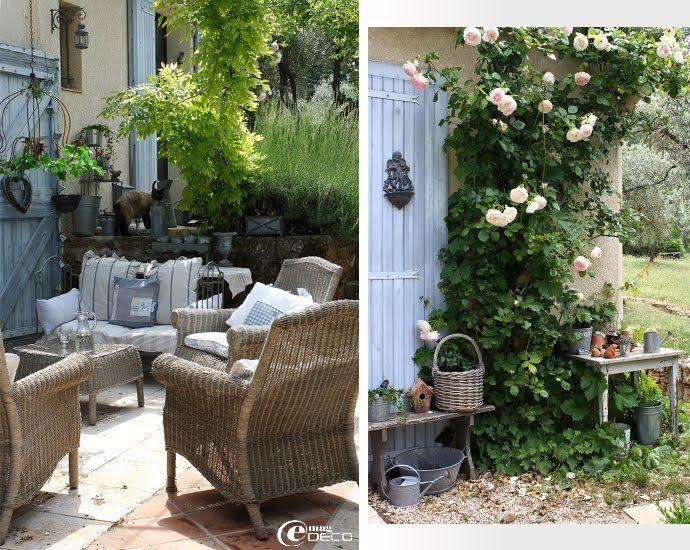 Un Mas Dans La Campagne Aixoise French Jardin Decoration