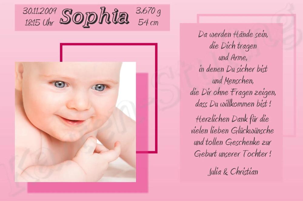 Dankeskarten Geburt Dankeskarten Geburt Text Danksagung Karten Danksagung Karten
