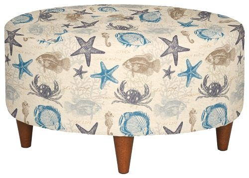 Enjoyable Upholstered Beach Fabric Accent Chairs And Ottomans By La Z Ocoug Best Dining Table And Chair Ideas Images Ocougorg