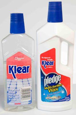Klear Ing Things Up Floor Cleaner Polish Floor Spray Bottle