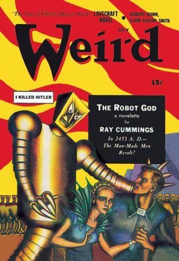 Weird Magazine: Man-Made Men Revolt 20x30 poster