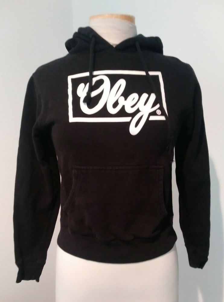 a68954ed0da Obey Womens Hoodie size XS  fashion  clothing  shoes  accessories   womensclothing  sweaters (ebay link)