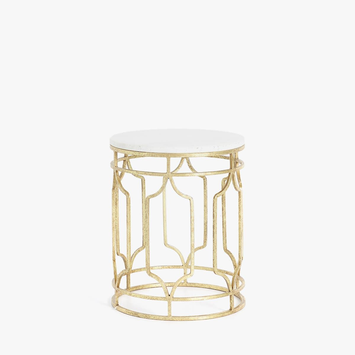 Image 1 Of The Product Marble Table With Gold Structure Marble Table Zara Home Marble Table Side Table