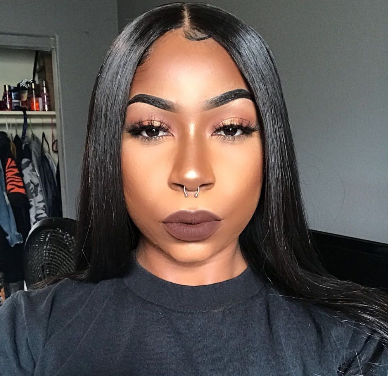 Pin by Nia Grier on Hair & Beauty Black girl makeup
