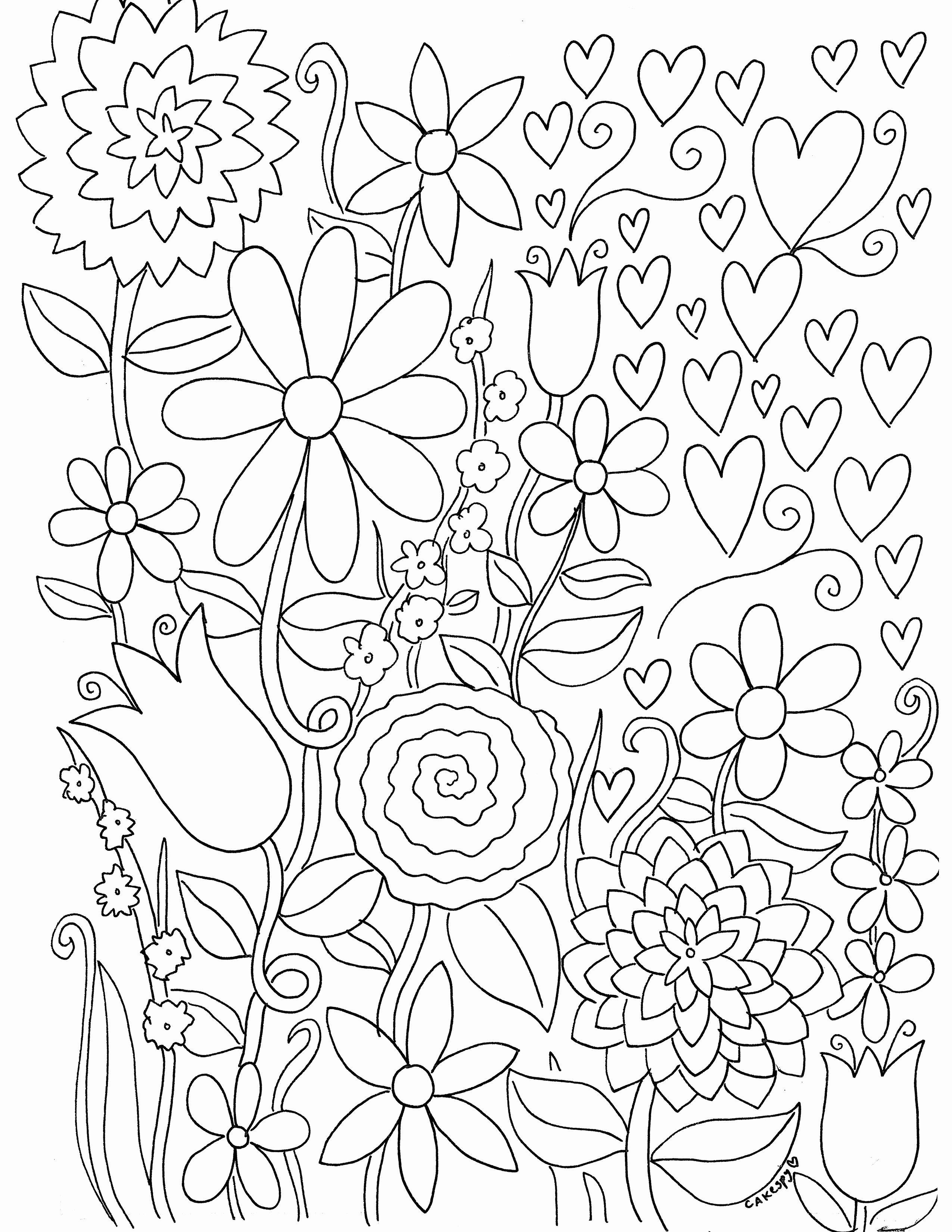 Wonderful Free of Charge Coloring Books flowers Ideas This
