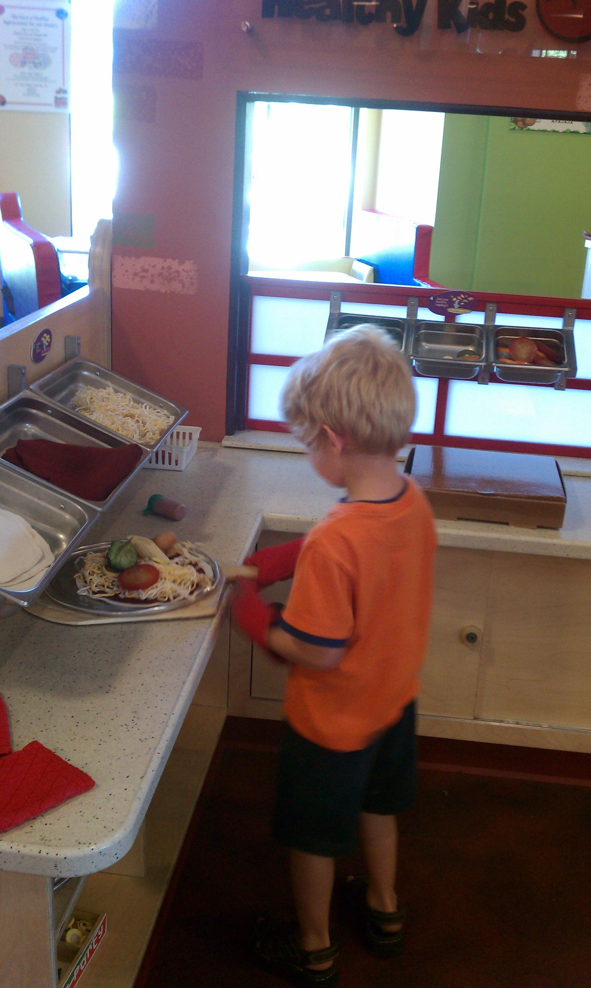 Pizza Parlor Kitchen pizza kitchen dramatic play. pizza parlor. use felt to layer the