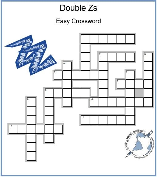 Fun New Kid Crossword Puzzle Kids