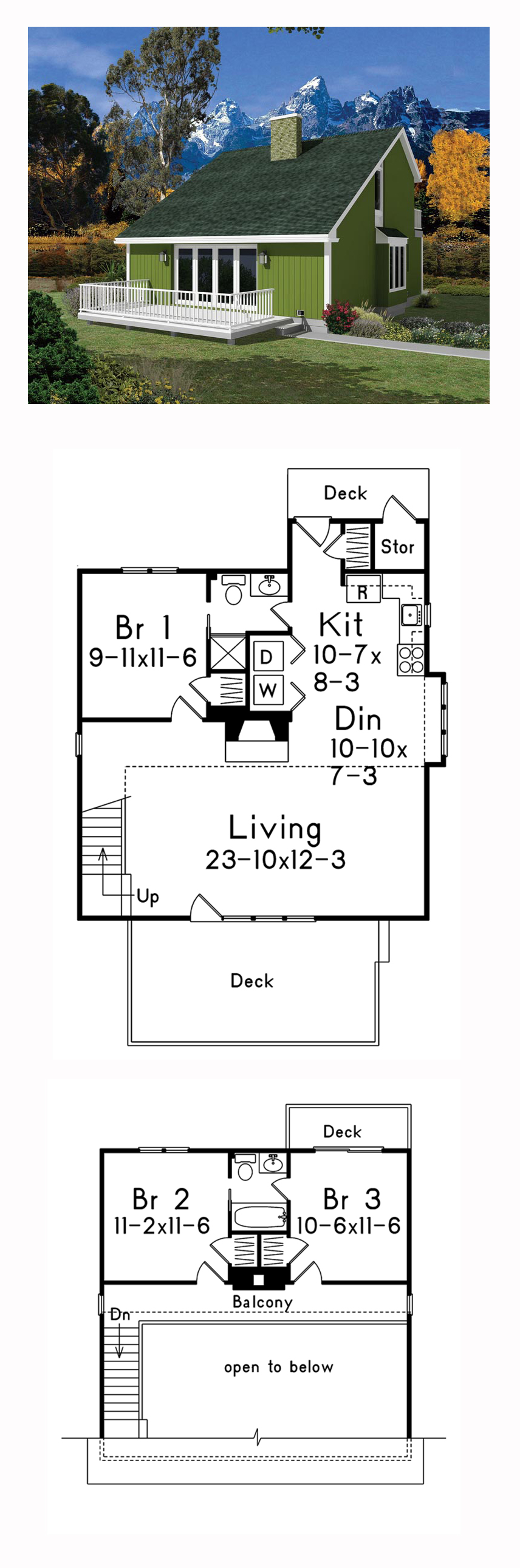 Contemporary Style House Plan 95994 With 3 Bed 2 Bath Victorian House Plans Sims House Plans House Plans