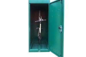 Vertical Bike Locker Vertical Bike Bike Locker Bicycle Storage