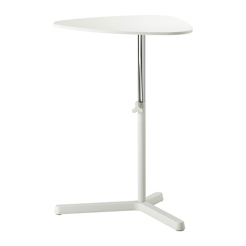 IKEA - SVARTÅSEN, Laptop stand, white, , Easy to raise or lower the