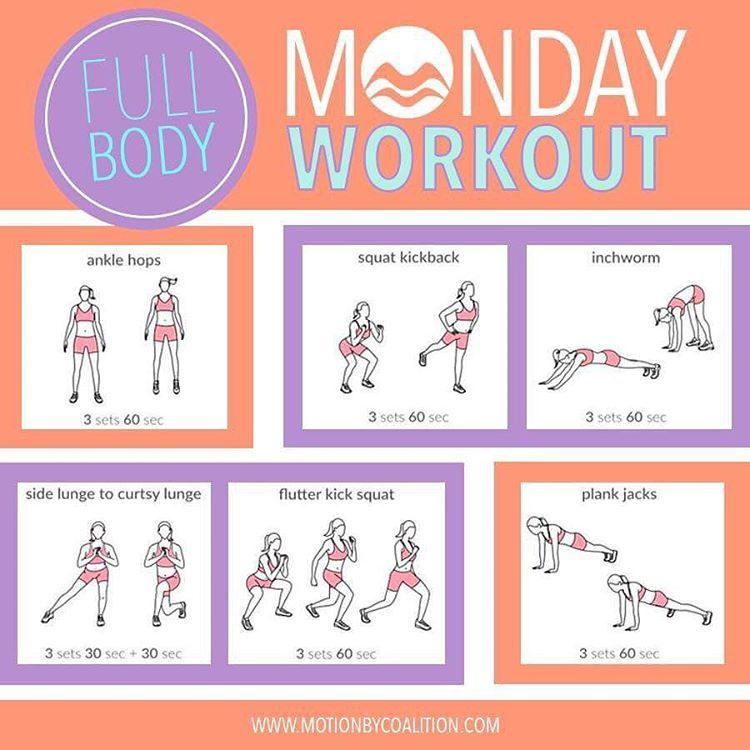 Who's ready for a Full Body Workout?