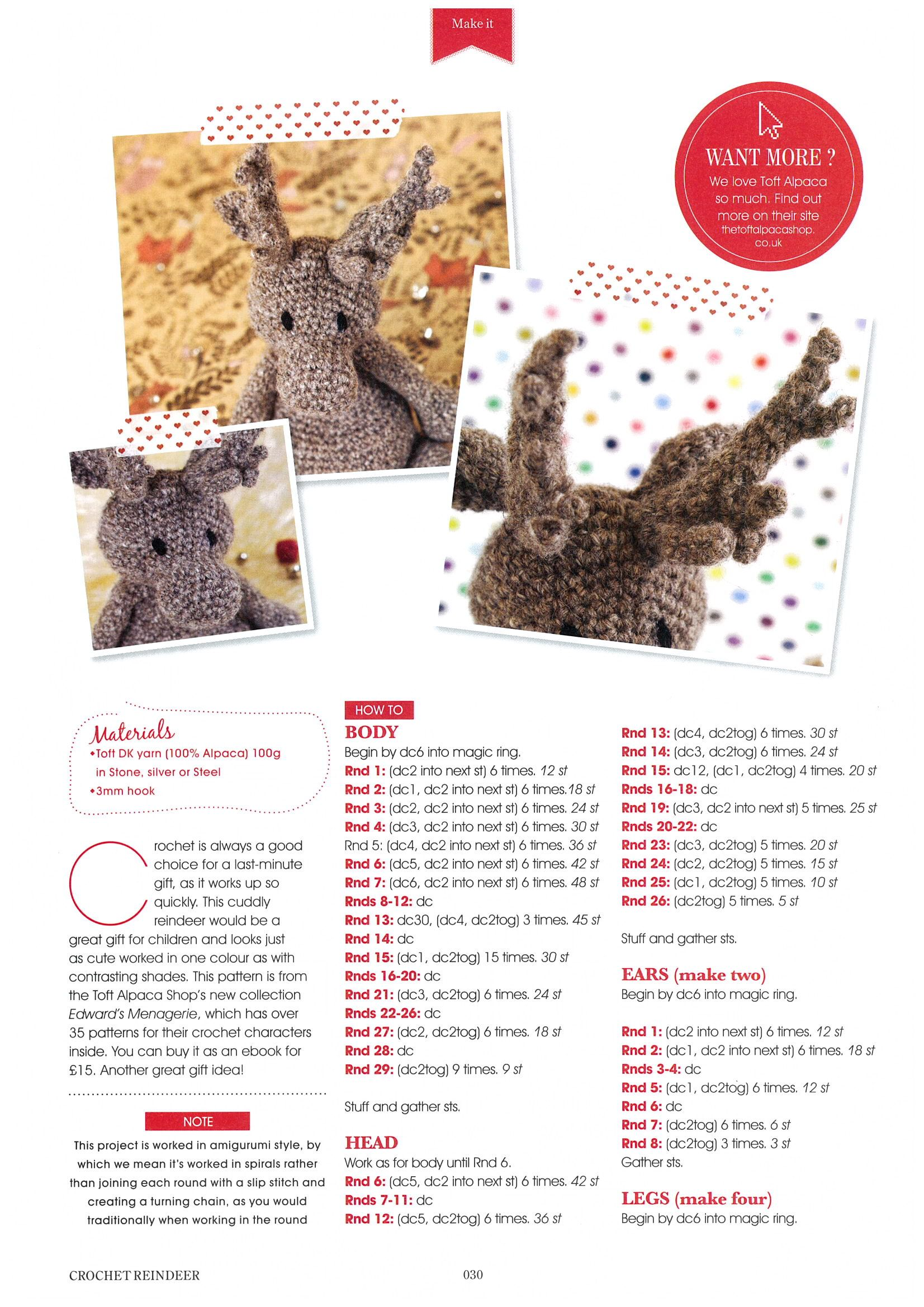 Toft Alpaca in Crafty Christmas Makes 2013 | Projects to Try