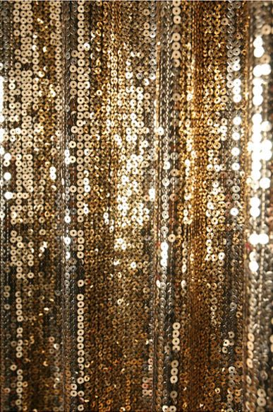 Gold Sequins Drop Curtain Decorative Metallic Drapery Panel Curtains Handmade Sequins Gold