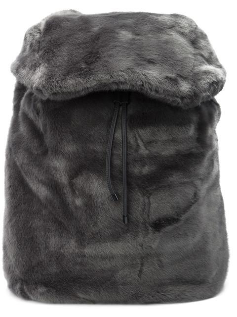 c9342f597304 PUMA Fenty Puma x Rihanna fur effect backpack.  puma  bags  fur  polyester   backpacks