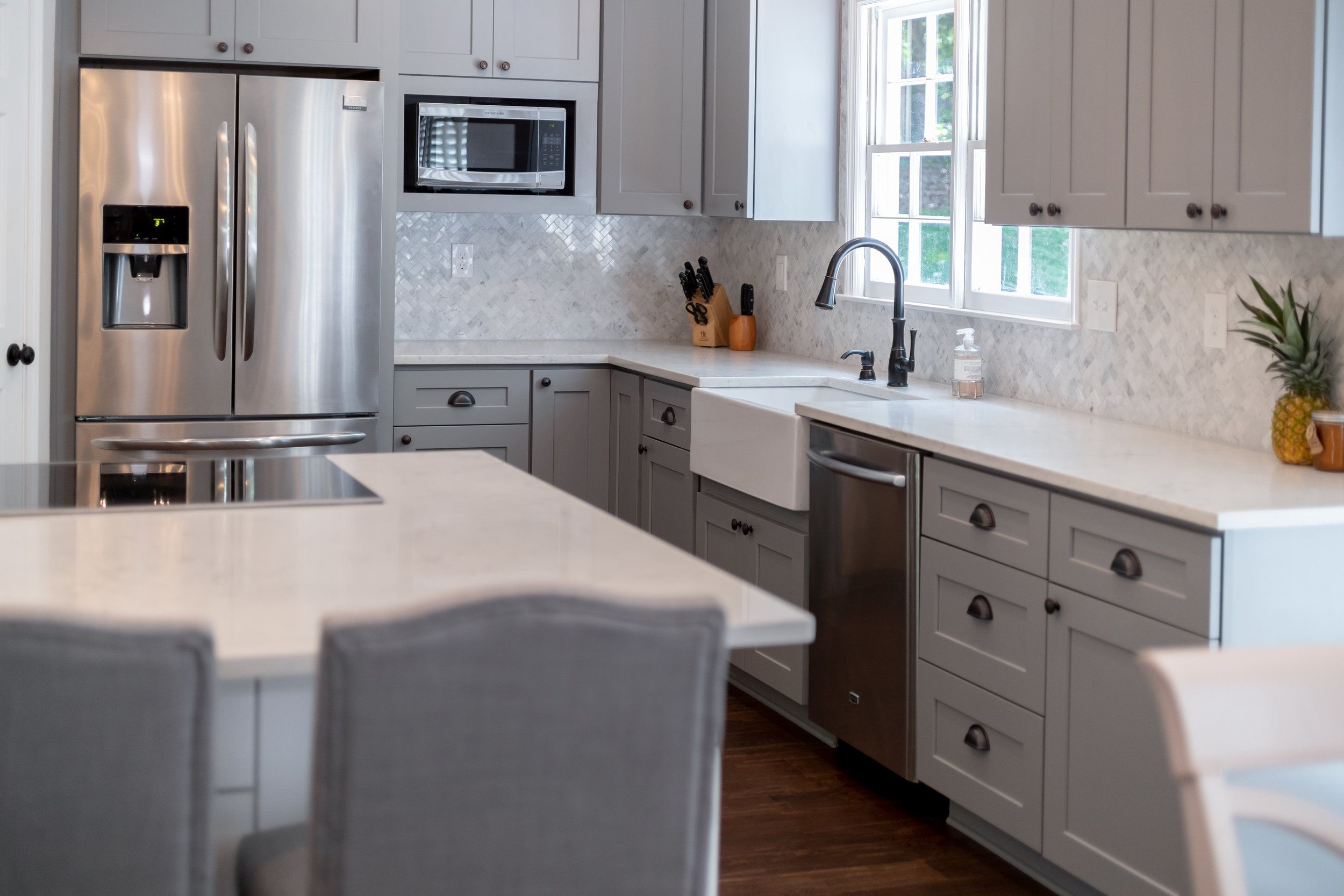 19+ Grey shaker kitchen cabinets model