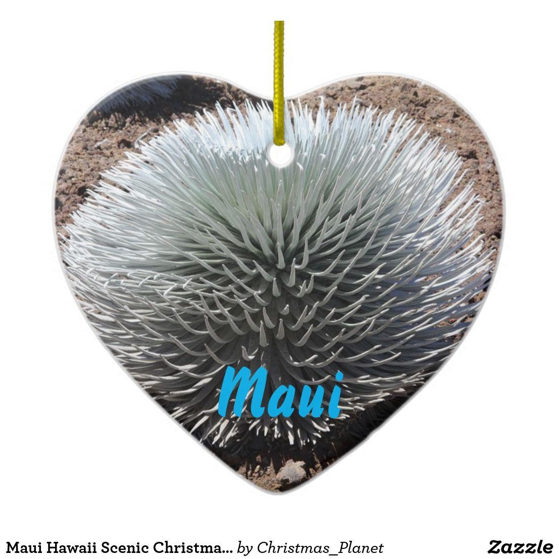USA: Maui Hawaii Scenic Christmas Ornament | Zazzle.com ...