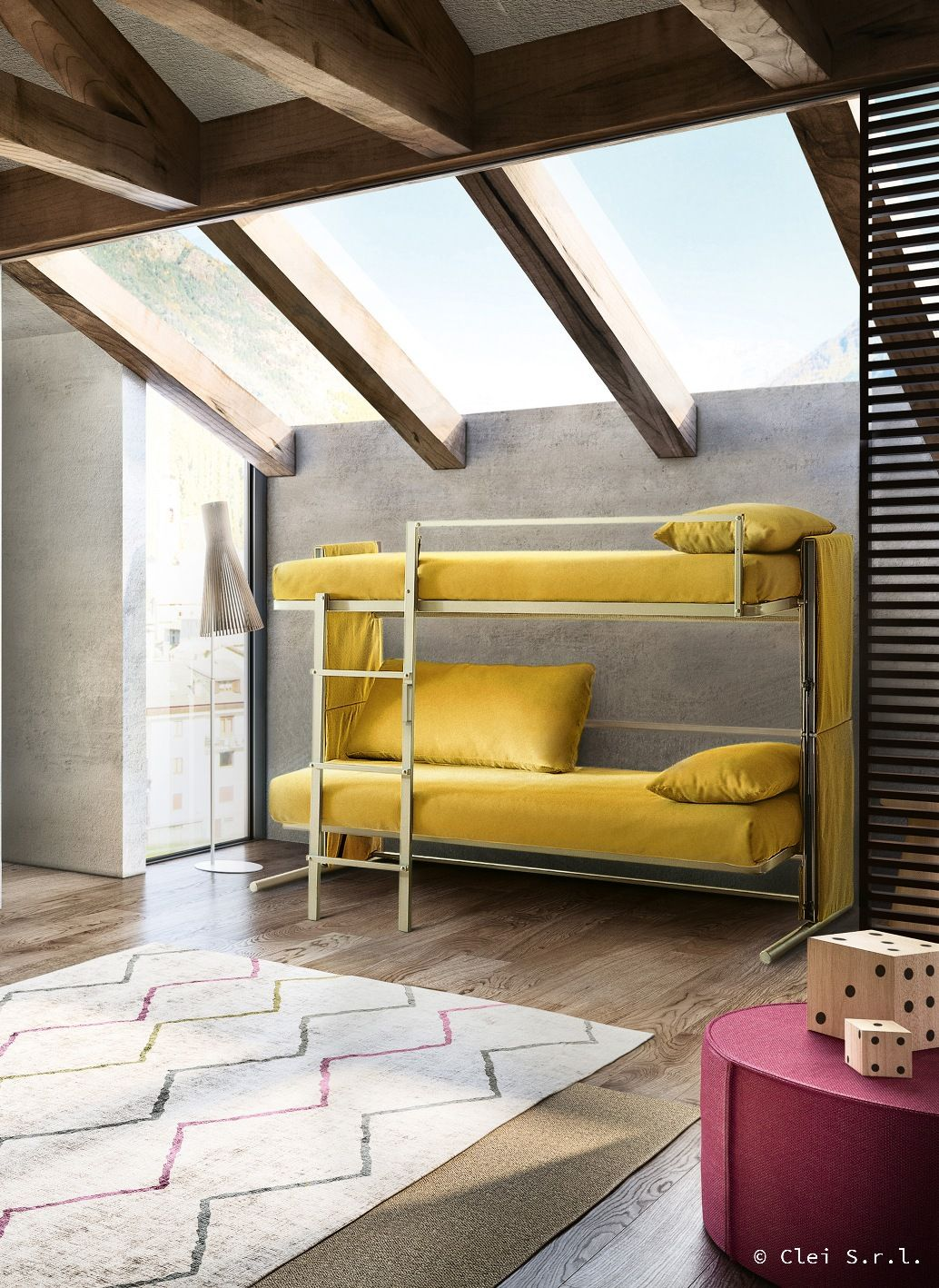 Il divano castello DOC è un comodo divano che, con un semplice ...