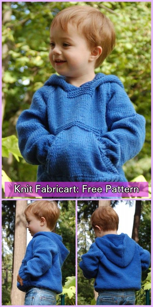 Knit Greenland Playtime Hoodie Sweater Free Knitting Pattern ...