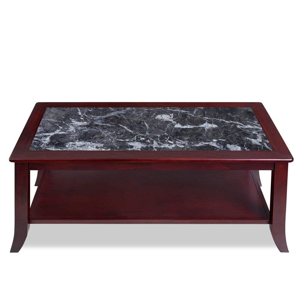 Marbletop Solid Wood Coffee Table Coffee Table Pinterest Solid