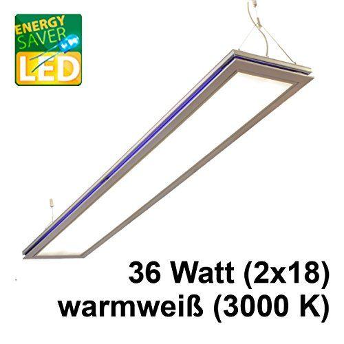 Pendelleuchte, Bürolampen, SUSI LED 36W, Max 2x26W, Warmweiß (3000K
