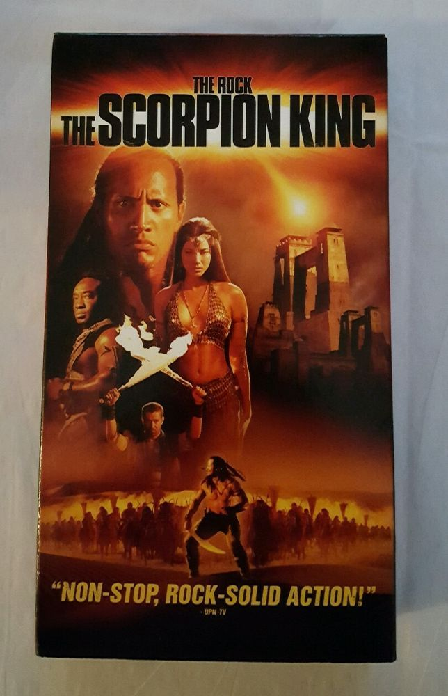 The Scorpion King (VHS, 2002) The Rock, Michael Clarke Duncan in DVDs & Movies, VHS Tapes | eBay Christmas in July