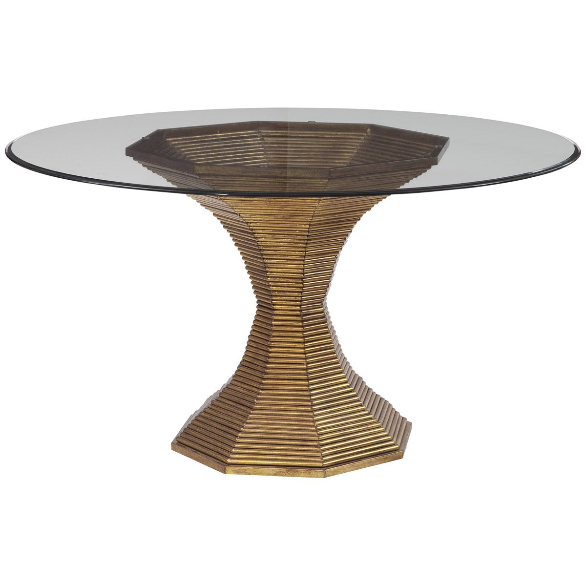bassett mirror dining table. Bassett Mirror Thoroughly Modern Dakota RD Dining Table 2894-700-095EC D