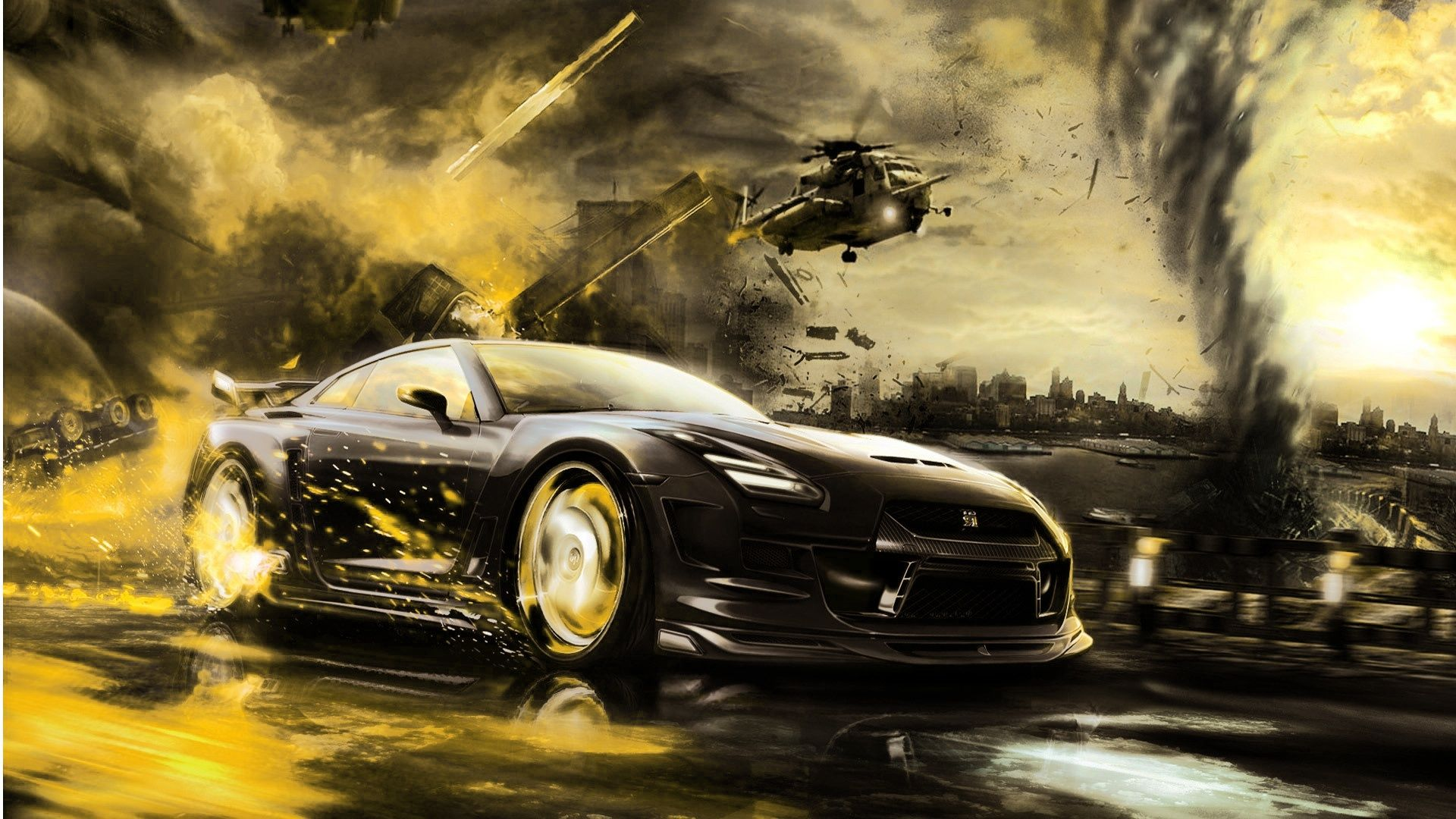 Awesome Halicopter Car Hd Wallpapers 1080p With Images Car