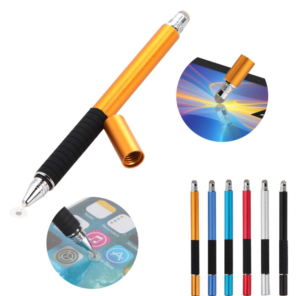 $2.05 (Buy here: http://appdeal.ru/4yju ) 2 in 1 Mutilfuction Fine Point Round Thin Tip Touch Screen Pen Capacitive Stylus Pen For iPad iPhone All Mobile Phones Tablet for just $2.05