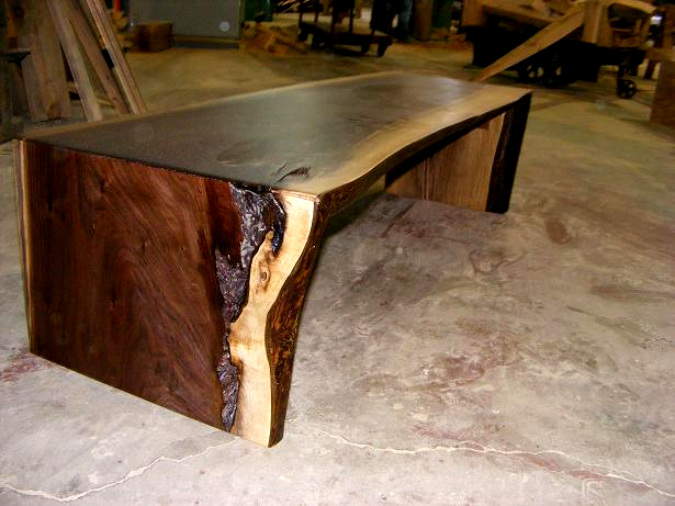 Impressive Live Edge Wood Slabs Tree Slices Counter Tops Pertaining To Slab Tables Por