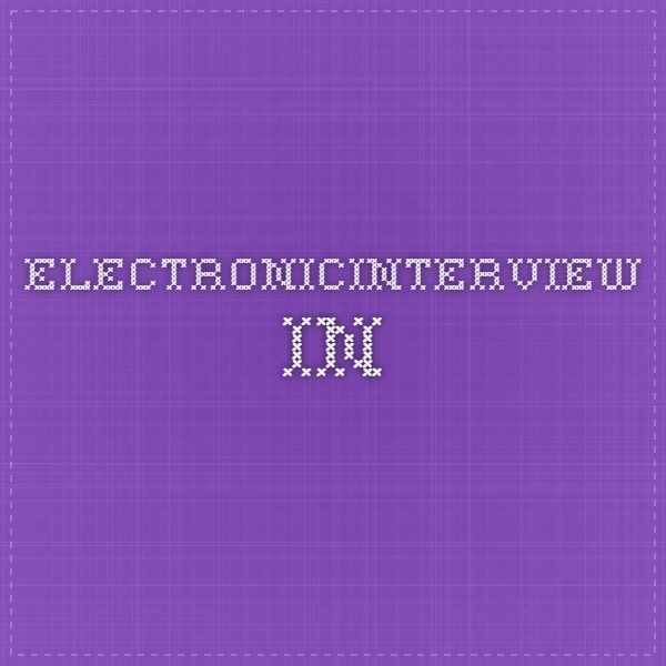 electronicinterview.in