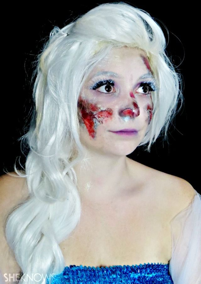 Disney princesses get zombified in this tutorial for girls who ...