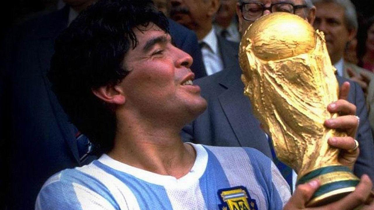 Diego Maradona World Champion 1986 Diego Maradona World Football Soccer Players