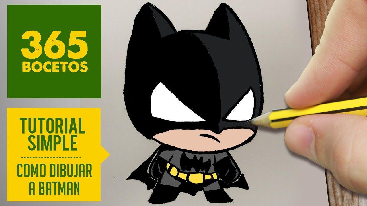 Pin De Nickolro En 365bocetos Como Dibujar A Batman Como