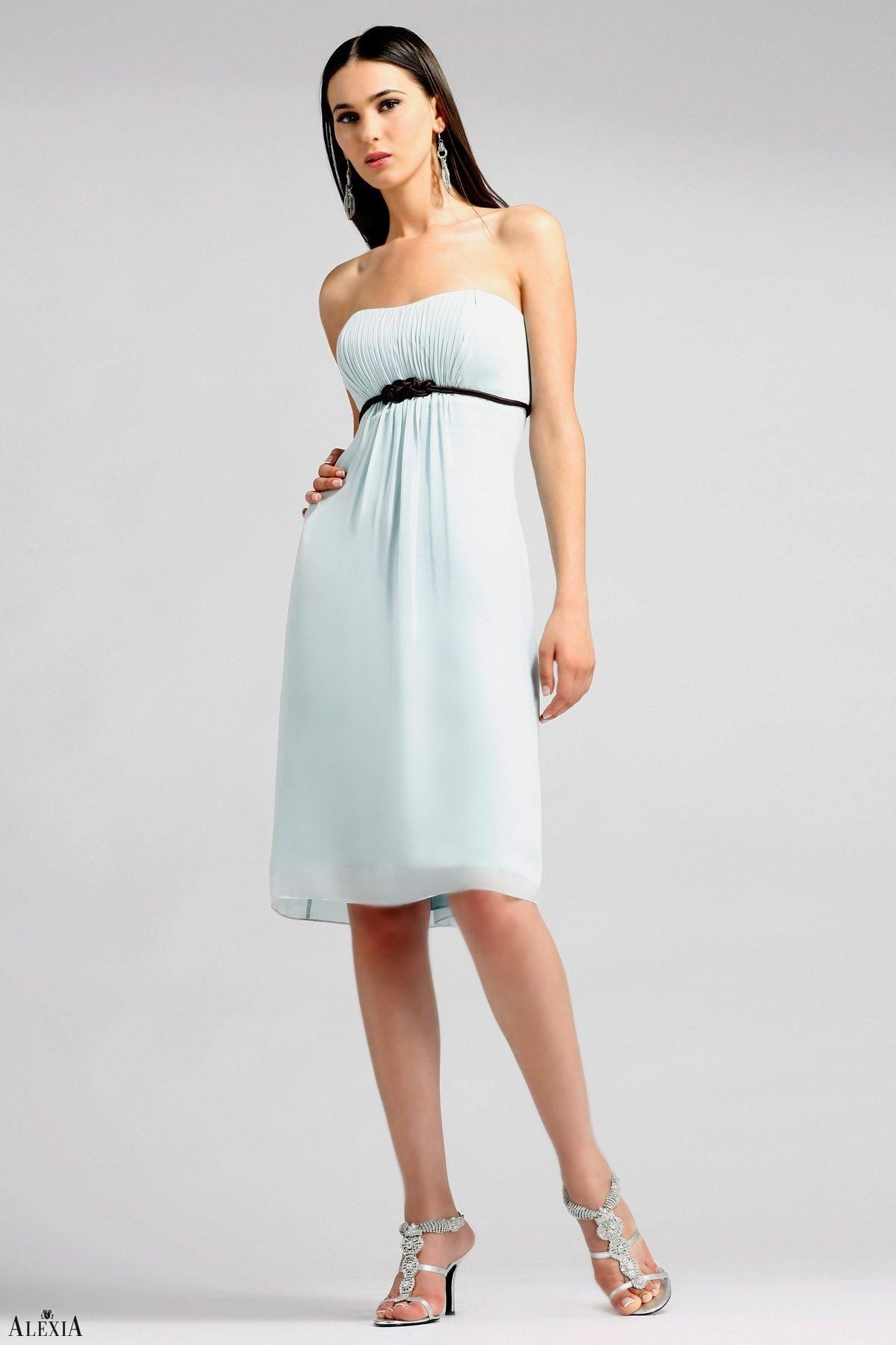 Alexia Designs Tea length dress wedding guest, Wedding