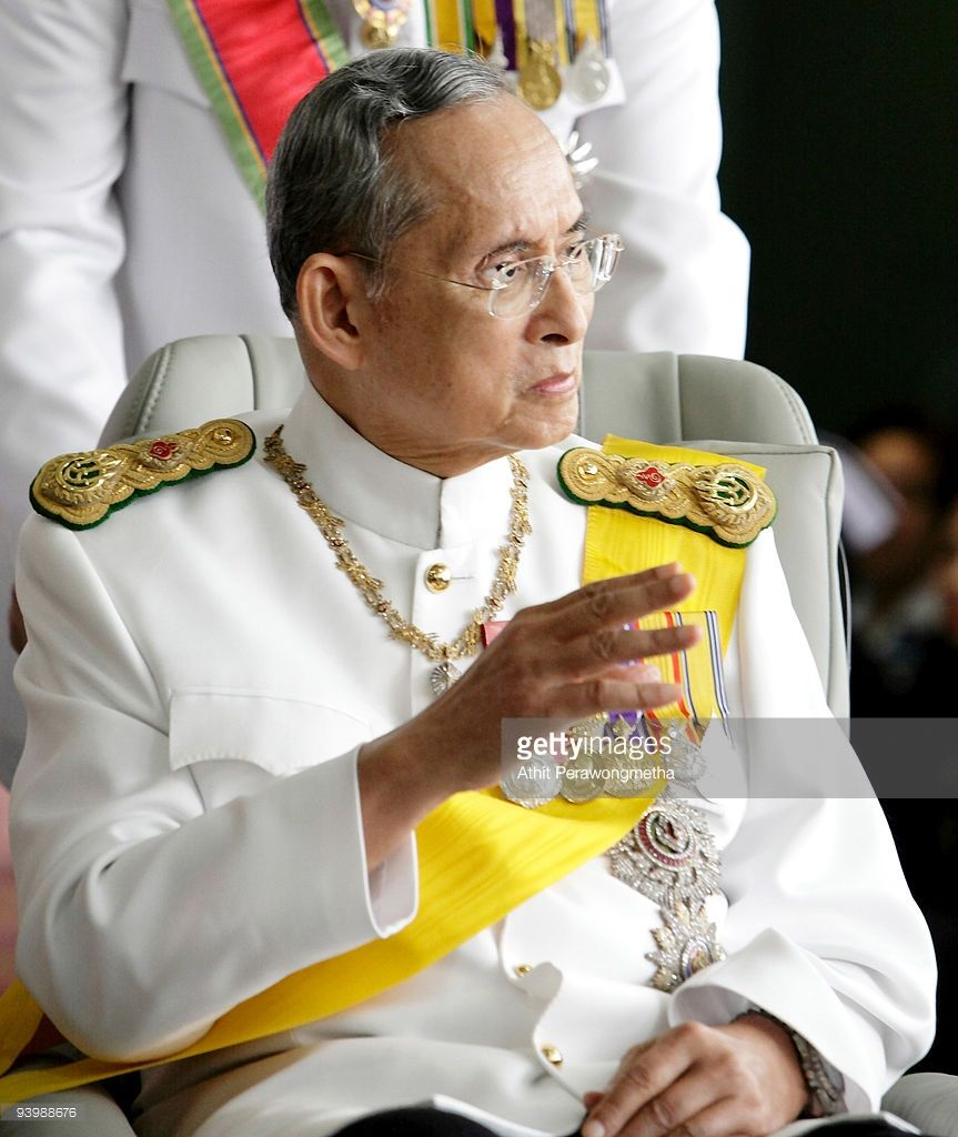 King Bhumibol Adulyadej Of Thailand Celebrates 82nd Birthday Photos And Premium High Res Pictures Bhumibol Adulyadej King Bhumibol Adulyadej King Bhumibol